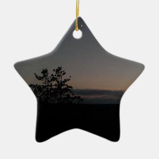 Mondschein Keramik Ornament