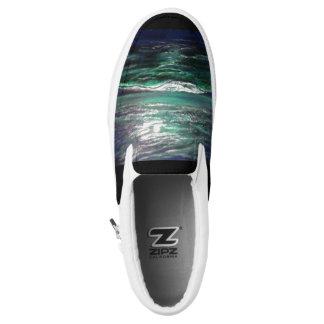Mondschein-Ozean Slip-On Sneaker