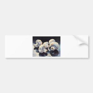 Mondschein-Pilze Autoaufkleber