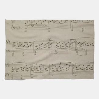 Mondschein-Sonate Geschirrtuch