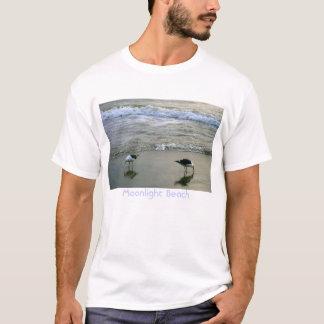 Mondschein-Strand T-Shirt