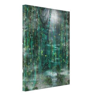 Mondschein u. Kunst Rebe-Digital Dreamscape Gespannte Galerie Drucke