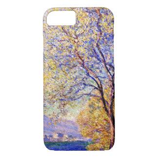 Monet: Antibes gesehen von den Salis Gärten iPhone 8/7 Hülle