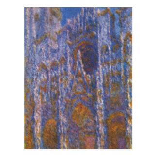 Monet, Claude Kathedrale von Rouen (DAS-Portal bei Postkarte