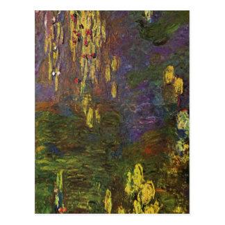 Monet, Claude-Nymphe? als (Seerosen) Techni Postkarte