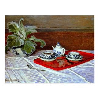 Monet - das Tee-Set Postkarte