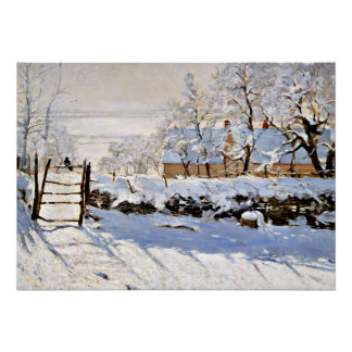 Monet - die Elster Poster