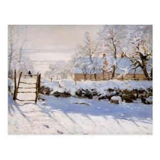 Monet - die Elster Postkarte
