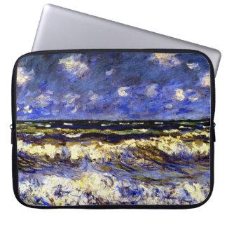Monet - ein stürmisches Meer Laptopschutzhülle