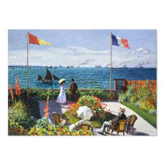 Monet Garten an Sainte Adresse Einladungen 12,7 X 17,8 Cm Einladungskarte