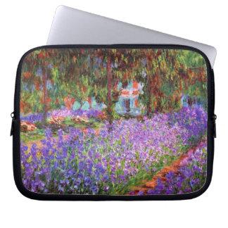 Monet - Garten bei Giverny Laptopschutzhülle