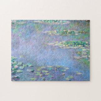 Monet Les Nympheas Wasser-Lilien-schöne Kunst Jigsaw Puzzles