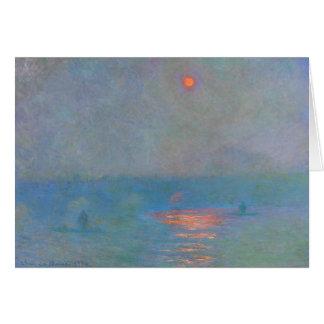 Monet Malerei Karte
