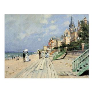 Monet Malerei Postkarte