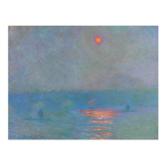 Monet Malerei Postkarten