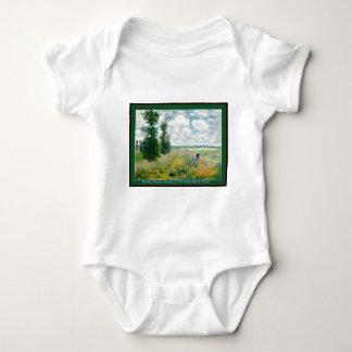 Monet, Monet, Monet Babygrow Kriechpflanze T-shirt