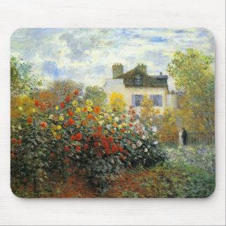 Monet Rosen-Garten-Mausunterlage Mousepads