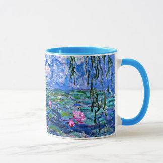 Monet: Wasser-Lilien 1919 Tasse
