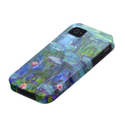 Monet Wasser-Lilien iPhone 4 Case-Mate 1915