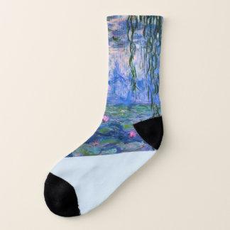 "Monet ""Wasser-Lilien-"" Socken"