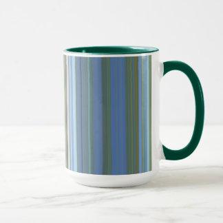 Monet Wasser Lilly Streifen-Tasse Tasse