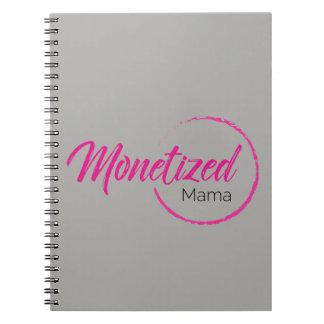 Monetized Mutter Notebook Spiral Notizblock