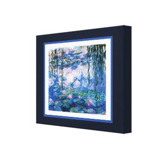 Monets Wasser-Lilien Leinwanddruck