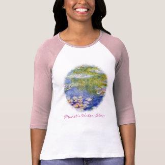 Monets Wasser-Lilien T-Shirt