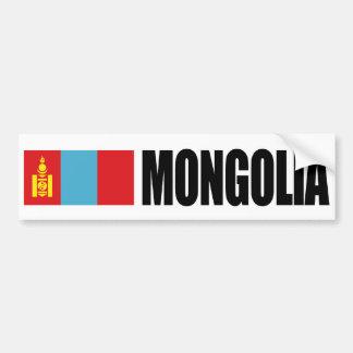 Mongolei-Flagge Autoaufkleber