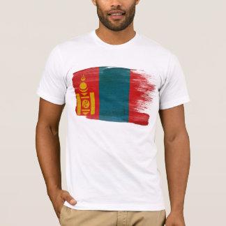 Mongolei-Flaggen-T - Shirt