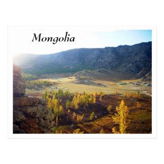 Mongolei Postkarte