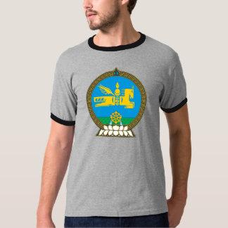 Mongolei-Wappen Detail Tshirt