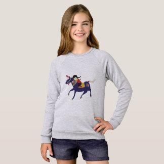 Mongolische Prinzessin Sweatshirt