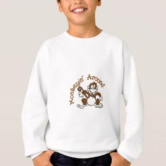 Monkeying herum sweatshirt