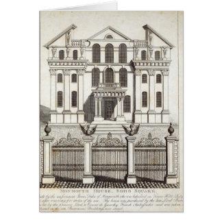Monmouth Haus, Soho Quadrat Karte