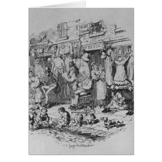 Monmouth, Illustration 'von den Skizzen durch Boz Karte