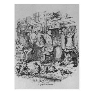 Monmouth, Illustration 'von den Skizzen durch Boz Postkarte