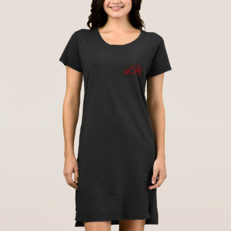 Monogramm-Art-Kleid Kleid