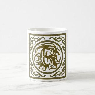 Monogramm-Buchstabe R Kaffeetasse