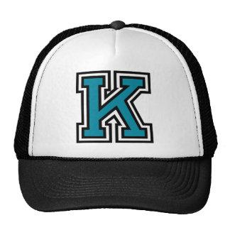 """Monogramm des Buchstabe-""""K"""" Baseball Mütze"""