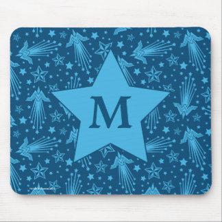 Monogramm des Wunder-Frauen-Symbol-Muster-| Mousepad