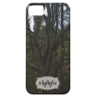 Monogramm: Dunkler Wald Schutzhülle Fürs iPhone 5