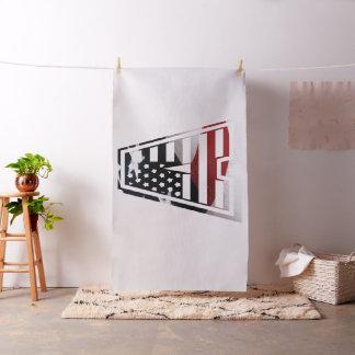 Monogramm eine USA-Flaggen-amerikanische Initiale Stoff