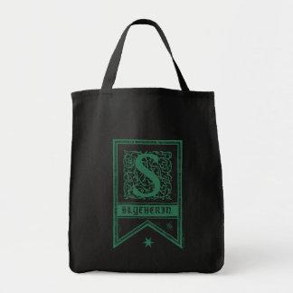 Monogramm-Fahne Harry Potters   Slytherin Tragetasche
