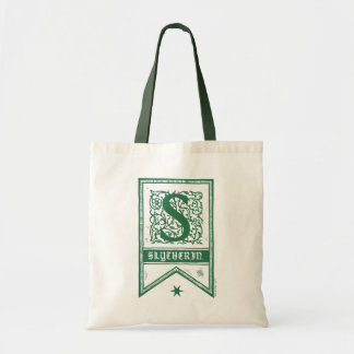 Monogramm-Fahne Harry Potters | Slytherin Tragetasche