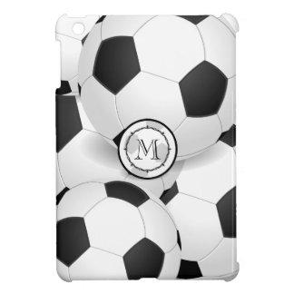 Monogramm-Fußball trägt iPad Minifall zur Schau iPad Mini Hülle