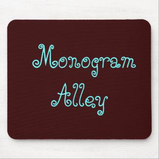 Monogramm-Gasse Mousepads