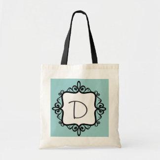 Monogramm-Gastgeschenk Hochzeits-Tasche
