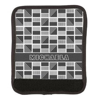 Monogramm-Griffverpackung der geometrischen Gepäckgriff Marker