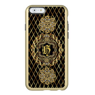 Monogramm H iphone 5/5s 6/6Plus las über Entwurf Incipio Feather® Shine iPhone 6 Hülle